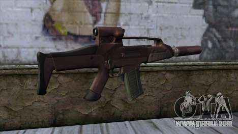 XM8 Compact Red for GTA San Andreas second screenshot