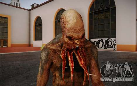 Bloodsucker from S.T.A.L.K.E.R. for GTA San Andreas third screenshot