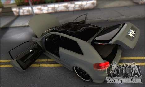 Audi S3 2006 Custom for GTA San Andreas engine