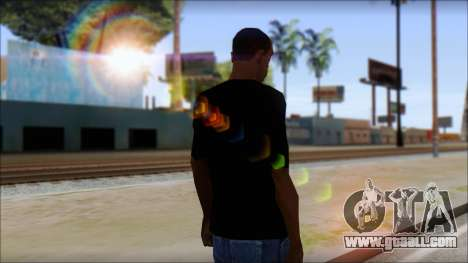Guitar T-Shirt Mod v2 for GTA San Andreas second screenshot