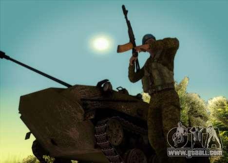 The RAA. Grenadier CRRF for GTA San Andreas third screenshot