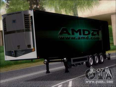 Trailer AMD Phenom X4 for GTA San Andreas left view