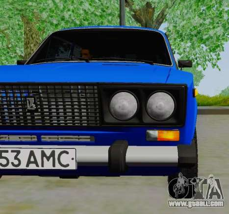 VAZ 21061 for GTA San Andreas right view