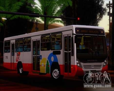 Neobus Mega IV - TCA (Araras) for GTA San Andreas inner view