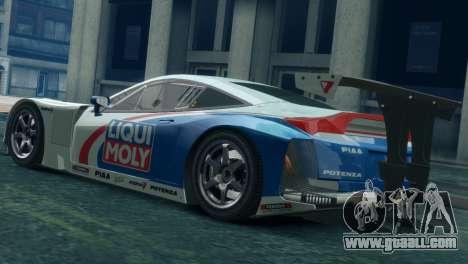 Honda HSV-010 GT for GTA 4 left view