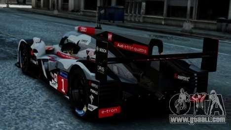 Audi R18 E-tron Quattro for GTA 4 left view