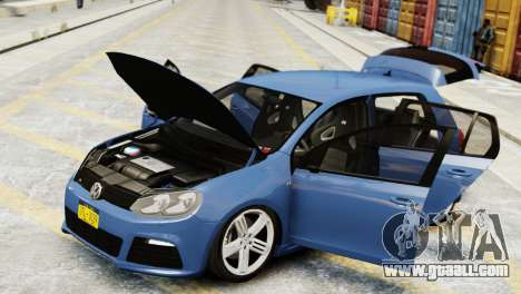 Volkswagen Golf R 2010 for GTA 4 right view