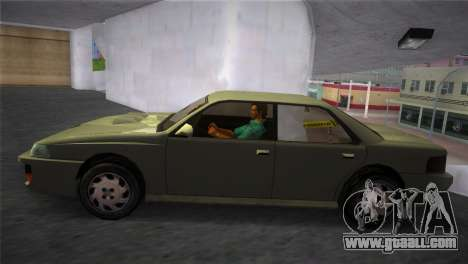 Sultan from GTA San Andreas for GTA Vice City back left view
