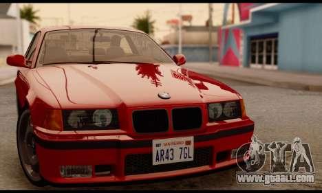 BMW M3 E36 1994 for GTA San Andreas