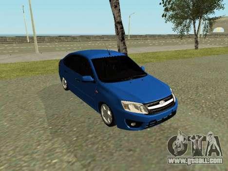 Lada Granta Liftback for GTA San Andreas