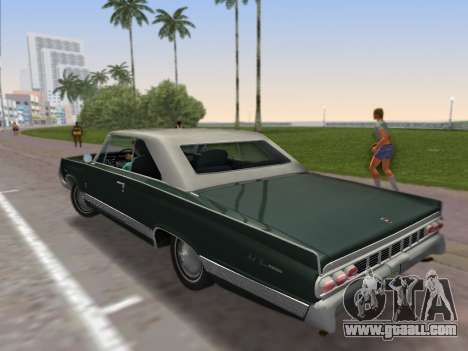 Mercury Park Lane 1964 for GTA Vice City left view