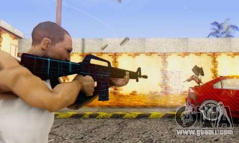 Abstract M16 for GTA San Andreas second screenshot