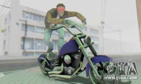 Biker A7X 2 for GTA San Andreas sixth screenshot