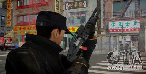 SPAS-12 for GTA 4 second screenshot