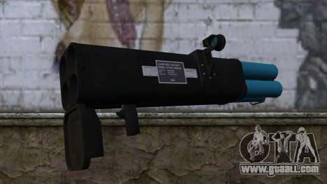M20 BRS Rocket Launcher for GTA San Andreas second screenshot