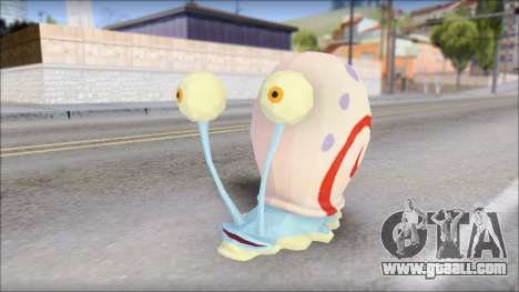 Gary (spongebob) for GTA San Andreas