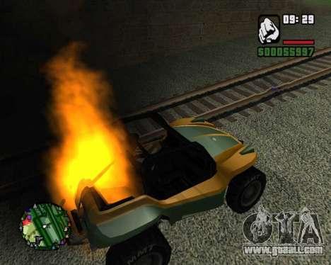 The coup for GTA San Andreas third screenshot