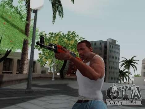 Type 56 for GTA San Andreas fifth screenshot