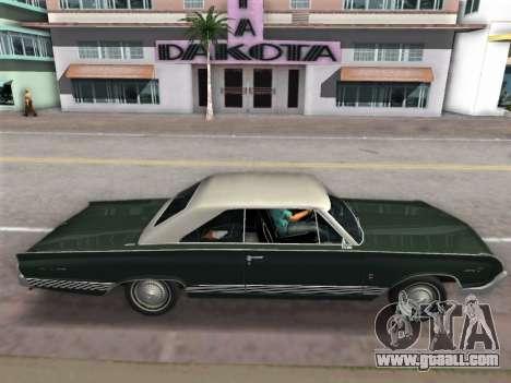 Mercury Park Lane 1964 for GTA Vice City right view