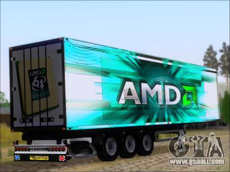 Trailer AMD Athlon 64 X2 for GTA San Andreas right view