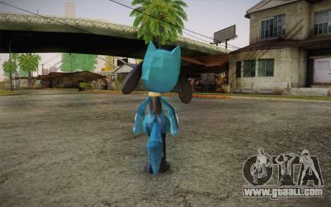 Riolu from Pokemon for GTA San Andreas second screenshot