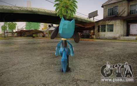 Riolu from Pokemon for GTA San Andreas second screenshot