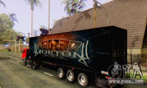 Trailer Chereau Morton Band 2014 for GTA San Andreas left view
