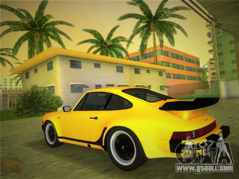 Porsche 911 Turbo 3.3 Coupe US-spec (930) 1978 for GTA Vice City left view