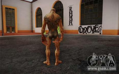 Bloodsucker from S.T.A.L.K.E.R. for GTA San Andreas second screenshot