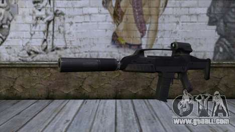 XM8 Compact Black for GTA San Andreas