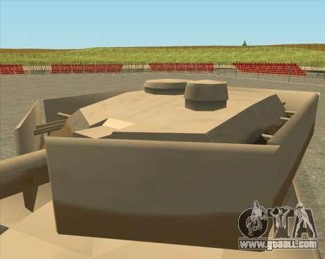 Dozuda.s Primary Tank (Rhino Export tp.) for GTA San Andreas right view