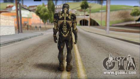 NanoSuit Skin for GTA San Andreas second screenshot
