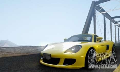 Porsche Carrera GT 2005 for GTA San Andreas inner view
