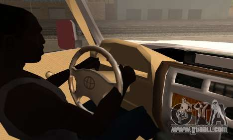 Toyota Land Cruiser LC 70 for GTA San Andreas back left view