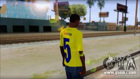 T-Shirt Colombia for GTA San Andreas second screenshot