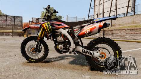 Yamaha YZF-450 v1.13 for GTA 4 left view