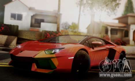 Lamborghini Aventador TT Ultimate Edition for GTA San Andreas