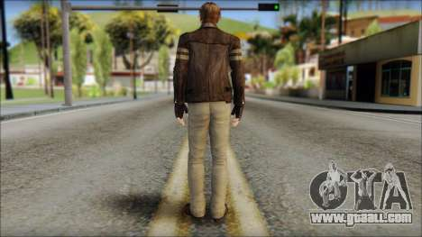 Leon Kennedy from Resident Evil 6 v4 for GTA San Andreas second screenshot