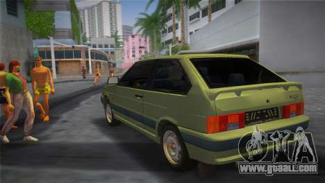 The VAZ-2113 for GTA Vice City left view