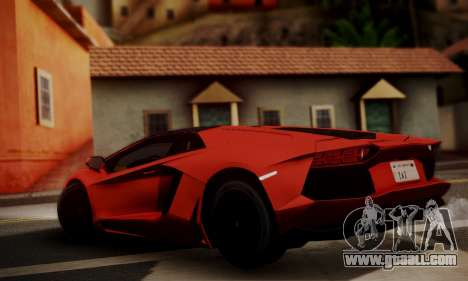 Lamborghini Aventador TT Ultimate Edition for GTA San Andreas left view
