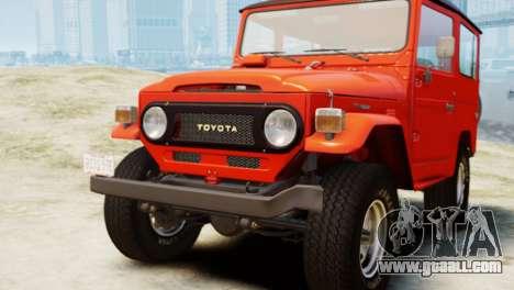 Toyota FJ40 Land Cruiser 1978 Beta for GTA 4