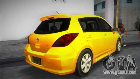 Nissan Versa for GTA Vice City left view