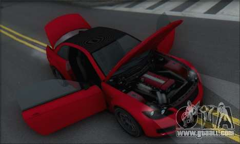 Superiority Sentinel XS for GTA San Andreas wheels