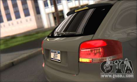 Audi S3 2006 Custom for GTA San Andreas back view