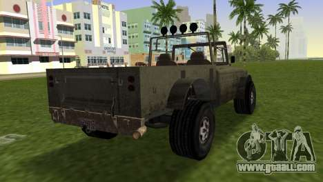 Bodhi from GTA 5 for GTA Vice City left view