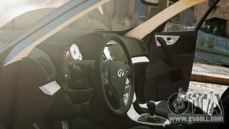 Infiniti FX50S v1.0 for GTA 4 right view