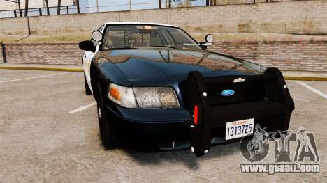 Ford Crown Victoria Sheriff [ELS] Slicktop for GTA 4
