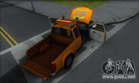 Chevrolet Colorado Cleaning for GTA San Andreas engine