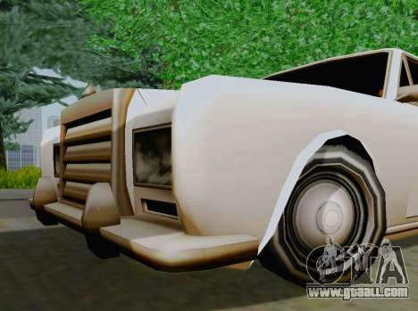 Stafford Limousine for GTA San Andreas right view
