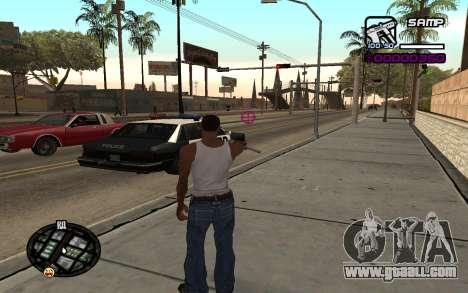 Hud by Videlka for GTA San Andreas second screenshot